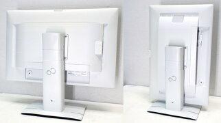 中古24.1型液晶モニター富士通FUJITSUVL-P24W-6D-Sub15DVI-DDisplayPort【中古】