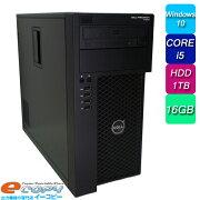 DELLPRECISIONT1650Corei5HDD1TB16GBメモリQuadro2000Office付きWindows10デスクトップパソコン中古パソコン
