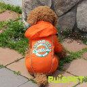 カラフルレインコート/オレンジ 小型犬用 (M-XLサイズ)【RUISPET ルイスペット】【メール便送料無料...