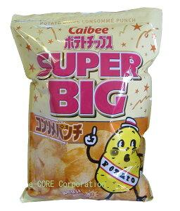 特大パーティサイズ!パーティサイズの大容量 カルビーCalbee ポテトチップス コンソメパン...