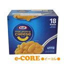 KRAFT クラフト マカロニチーズ 206gx18箱セット チーズソース付マカロニ 《》【RCP】