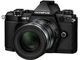 OLYMPUS / オリンパス OLYMPUS OM-D E-M5 Mark II 12-50mm EZレンズキット [ブラック] 【デジタ...