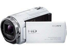 【アウトレット初期不良修理品】ソニー/SONYデジタルHDビデオカメラレコーダーHDR-CX535(W)[ホワイト]