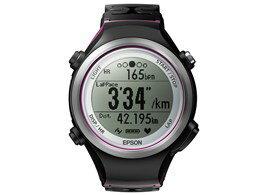 【エントリー&FBアプリから購入でポイント5倍!(2015/7/1010:00〜7/149:59)】EPSON/エプソンGPS・脈拍計測機能搭載モデル腕時計WristableGPSSF-810V