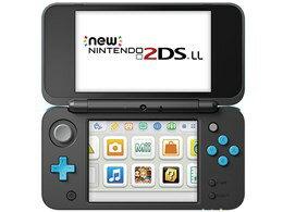 Nintendo / 任天堂 Newニンテンドー2DS LL [ブラック×ターコイズ] 【ゲーム機】【送料無料】