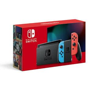 ★【6/8入荷予定】Nintendo / 任天堂 Nintendo Switch HAD-S-KABAA [ネオンブルー・ネオンレッド]【送料無料】