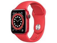 ★アップル / APPLE Apple Watch Series 6 GPSモデル 40mm M00A3J/A [(PRODUCT)REDスポーツバンド]【送料無料】