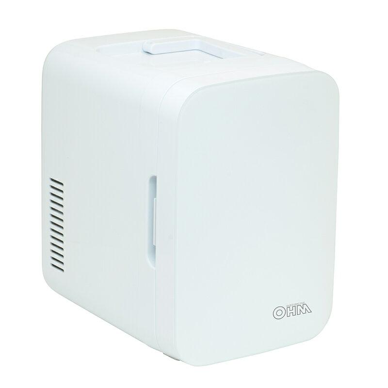 オーム電機 保冷保温ボックス ポータブル電子式 KAJ-R055R-W 品番 08-1108