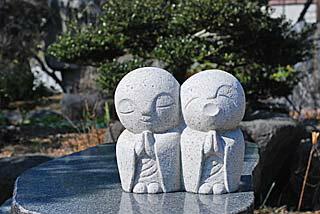 お地蔵様の彫刻
