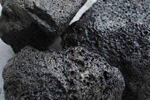 【打ち水効果持続】【高吸水率!14.5%】天然の溶岩の玉石です♪水槽のレイアウトにお勧め!【...