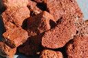 天然の溶岩の玉石です♪水槽のレイアウトにお勧め!50mm〜100mm水槽のレイアウトに!底床用溶岩...
