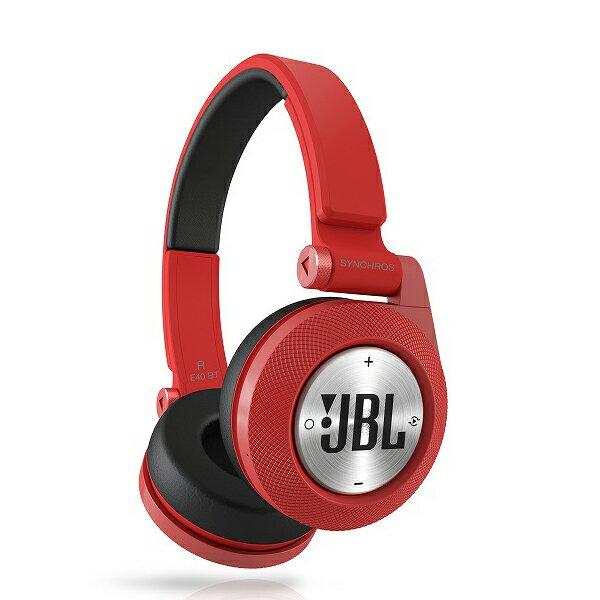 Bluetoothヘッドホン JBL Synchros E40BTRED (レッド)【送料無料】 【Bluetoothヘッドホン】40mm口径ドライバー搭載Bluetoothワイヤレスヘッドホン!