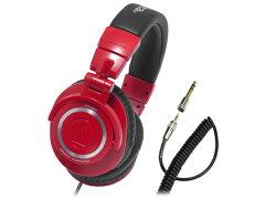 ATH-M50の新カラー!【ご予約受付中】audio-technica(オーディオテクニカ) ATH-M50 RD【送料無...