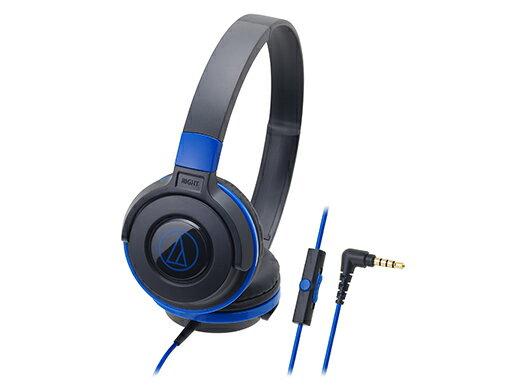オーディオ, ヘッドホン・イヤホン  audio-technica ATH-S100iS BBL() 1