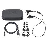 ATH-BT12-BK(ブラック)【送料無料】Bluetooth対応ワイヤレスステレオヘッドセット