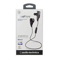 audio-technica(オーディオテクニカ)ATH-BT12-BK(ブラック)【送料無料】Bluetoothワイヤレスイヤホン