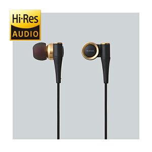 ハイレゾ音源に対応したカナル型イヤホン!ELECOM EHP-CH1000GD(ゴールド) ハイレゾ対応イヤホ...