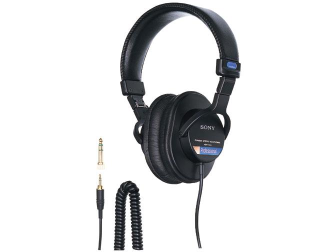 PA機器, モニターヘッドホン SONY MDR-7506 1