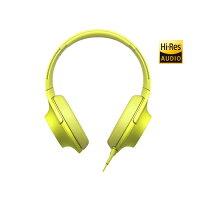 SONY(ソニー)MDR-100AY(ライムイエロー)【ハイレゾ対応ステレオヘッドホン】【ヘッドフォン密閉型】