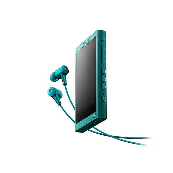 SONY(ソニー) NW-A35HN LM ビリジアンブルー 16GB ハイレゾ対応タッチパネル搭載ウォークマン Aシリーズ【送料無料】 ハイレゾをもっとクリアに、快適な操作性で楽しめるウォークマン。ハイレゾ対応ノイズキャンセリングイヤホン同梱モデル