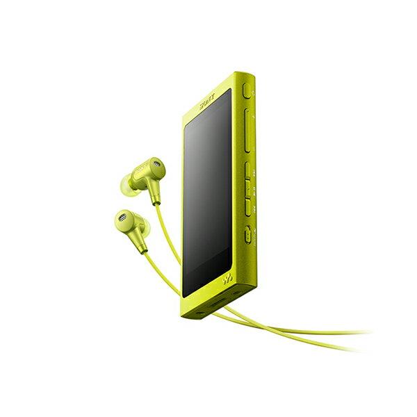 SONY(ソニー) NW-A36HN YM ライムイエロー 32GB ハイレゾ対応タッチパネル搭載ウォークマン Aシリーズ【送料無料】 ハイレゾをもっとクリアに、快適な操作性で楽しめるウォークマン。ハイレゾ対応ノイズキャンセリングイヤホン同梱モデル