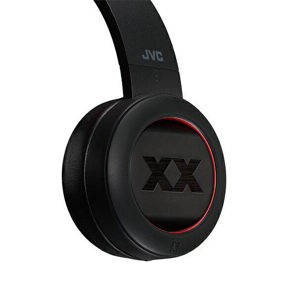 JVC ビクター HA-XP50BT レッド 密閉型ポータブルBluetoothワイヤレスヘッドホン ヘッドフォン