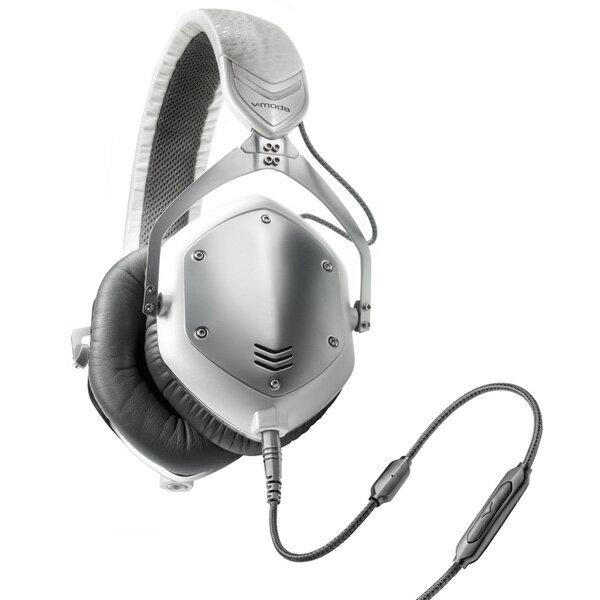 v-moda(ブイモーダ) Crossfade M-100 White Silver(M100-WhiteSilver)【送料無料】おしゃれなヘッドホン(ヘッドフォン) 臨場感溢れるリアルな3Dサウンドの密閉型ヘッドホン