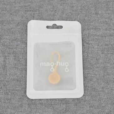 plus3° mag-hug Sand(サンド)【ケーブルをまとめるのに便利なマグネットクリップ・バンド/ケーブル収納マグネットクリップ】