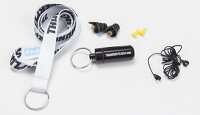 【耳栓】SafeEarsThunderplugsPRO聴覚障害予防/難聴予防向け(2種類のフィルターとネックコード付き)耳栓【イヤープロテクター】