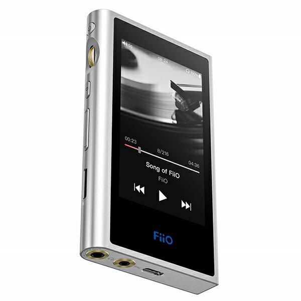 【SDカードプレゼント中!】 FiiO フィーオ M9 Silver 【FIO-M9-S】 ポータブル ハイレゾプレイヤー【送料無料】 【1年保証】
