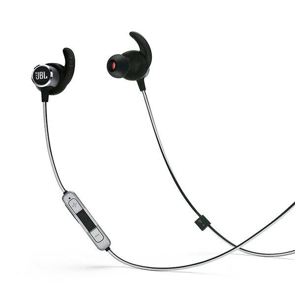 Bluetooth ワイヤレス イヤホン JBL REFLECT MINI 2 ブラック 【JBLREFMINI2BLK】 ワイヤレス スポーツ ランニング 防汗 イヤフォン 【1年保証】