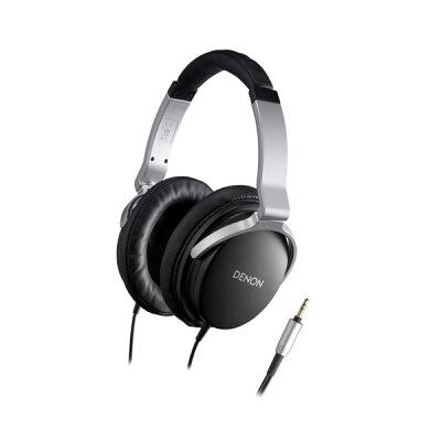 大口径50mm振動板採用の高音質設計DENON AH-D1100-K(ブラック)【smtb-tk】
