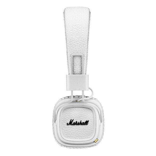 【新製品】Marshall(マーシャル) Marshall Major II Bluetooth White(ホワイト)【ZMH-04091794】Bluetoothワイヤレスヘッドホン(ヘッドフォン)【送料無料】 Marshallで最も人気のあるヘッドフォンのBluetoothモデルが登場