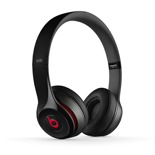 Beats by Dr.Dre(ビーツ) Solo2 オンイヤー・ヘッドフォン - ブラック 【iPhone...