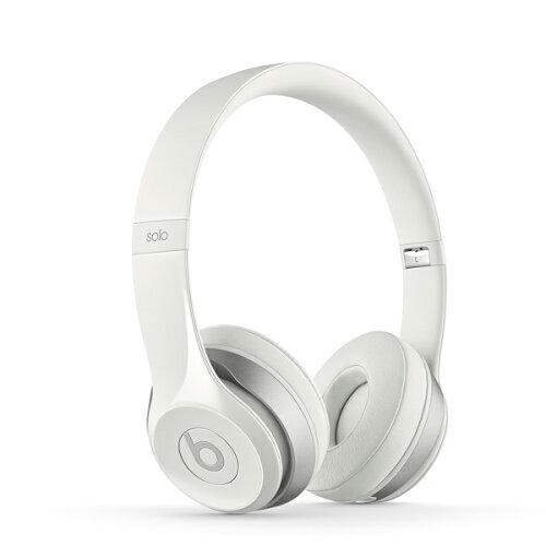 Beats by Dr.Dre(ビーツ) Solo2 オンイヤー・ヘッドフォン - ホワイト【iPhone...