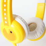 onanoff(オナノフ)BuddyPhonesStandardYellow(イエロー)かわいい子供用ヘッドホン(ヘッドフォン)
