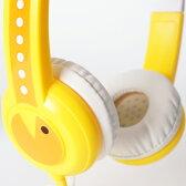 onanoff(オナノフ) BuddyPhones Standard Yellow(イエロー) かわいい子供用ヘッドホン(ヘッドフォン)