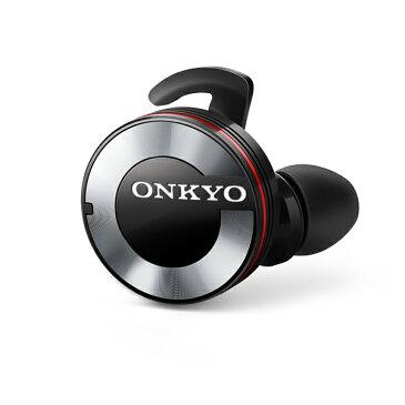 【エントリーでP10倍】【在庫限り】 完全ワイヤレス イヤホン ONKYO オンキヨー W800BTB【送料無料】 左右分離型 フルワイヤレス 両耳 Bluetooth ブルートゥース イヤフォン