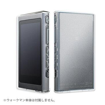 musashino LABEL ムサシノレーベル SONY NW-A30シリーズ用フルアーマーケース(ハイブリッド) クリア【CP-NWA30C1/C】