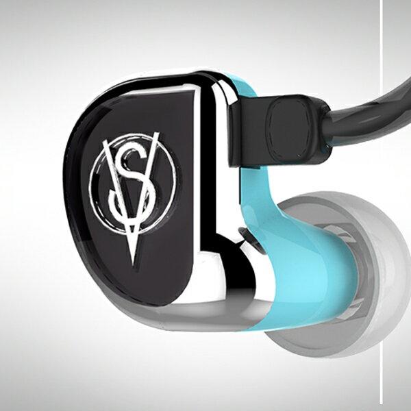 Clear Tune Monitors VS-2 Blue(ブルー)2BAドライバ搭載高音質 イヤホン イヤフォン:eイヤホン