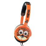 【キッズヘッドホン】TabzooTigerHeadphones【HTZ-TIGER】かわいい子供用ヘッドホン(ヘッドフォン)【送料無料】