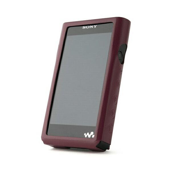 Miter(ミター) NW-WM1シリーズ用OPUレザーケース ワインレッドウォークマン用レザーケース
