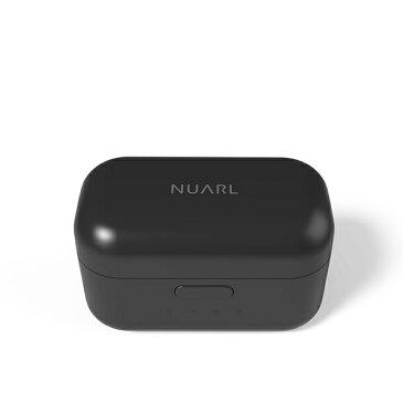 【ポイント10倍】 【在庫限り】 トゥルーワイヤレス イヤホン Bluetooth NUARL ヌアール NT01 マットブラック 【NT01-MB】 高音質 左右分離型 完全ワイヤレスイヤホン イヤフォン 【送料無料】【1年保証】