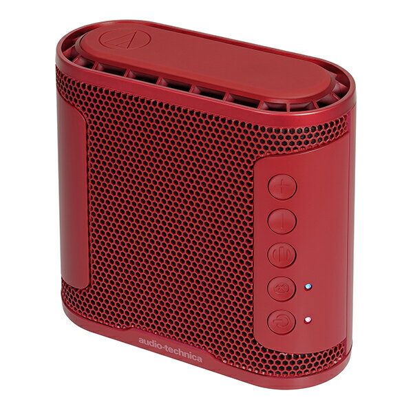 audio-technica オーディオテクニカ AT-SBS50BT RD  ポータブル ワイヤレス 防水 スピーカー