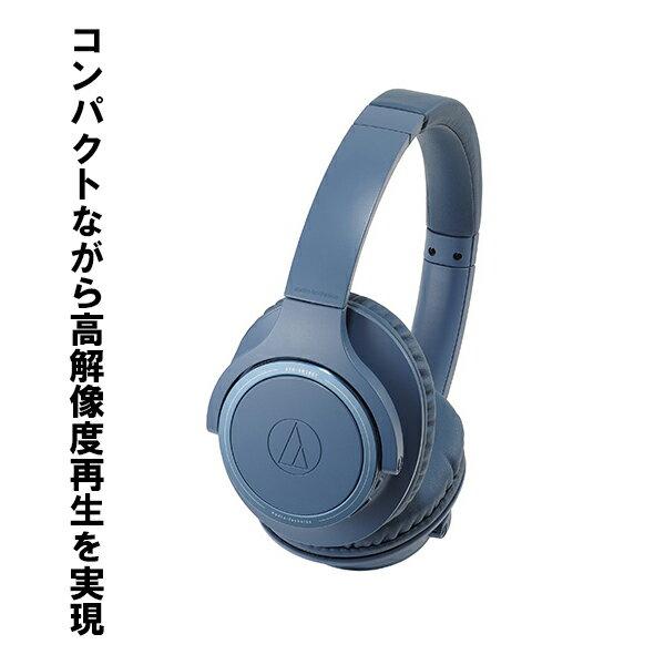 オーディオ, ヘッドホン・イヤホン audio-technica ATH-SR30BT BL Bluetooth 1