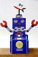 いろいろな色でカラフルなロボット貯金箱を作りましょう!!