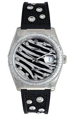 Rolex Datejust Zebra 116189 (diamond) 10 P diamond