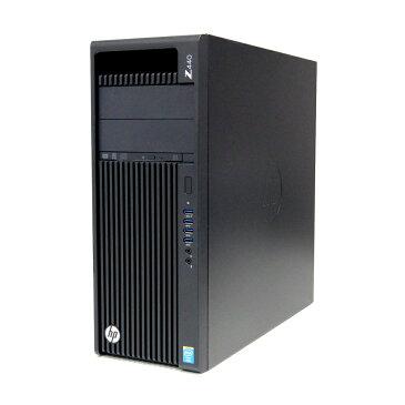 中古 パソコン hp Z440 訳あり 筐体傷あり デスクトップ CAD Quadro K4200 ZTurboドライブ WPS Office付き Windows10 Pro 【Xeon E5-1620v3/16GB/256GB SSD/500GB HDDx2/MULTI】
