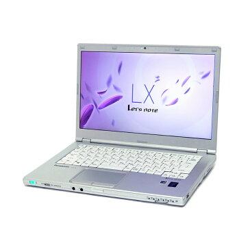 中古 パソコン Panasonic Let'snote LX4 訳あり 外観難あり B5 ノートパソコン 14インチ 1600x900表示 無線LAN WPS Office付き Windows8.1 Pro 【Core i5-5300U/4GB/128GB SSD】