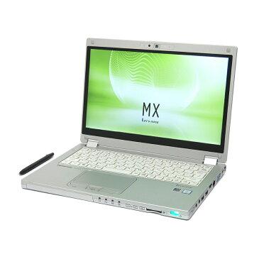 中古 パソコン Panasonic Let's note MX5 訳あり 外観難あり B5 2in1 ノートパソコン 12.5インチ FHD カメラ ac 無線LAN WPS Office付き Windows10 Pro 【Core i5-6300U/4GB/128GB SSD】